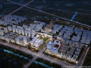 杭州地铁万科未来天空之城新房楼盘图片