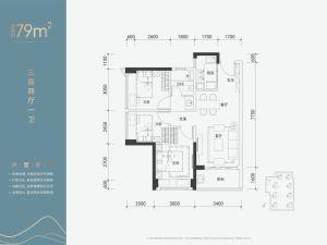 深圳佳兆业樾伴山花园新房楼盘户型图17