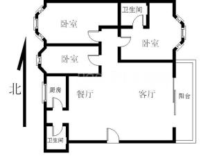 浪琴屿 3室2厅 94㎡深圳南山区后海二手房图片