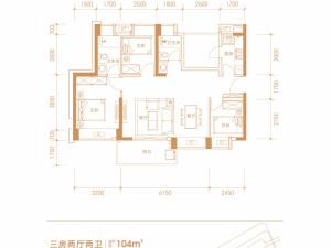 深圳兆邦基碧湖春天新房楼盘户型图61