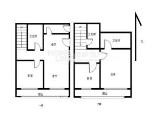 东海国际 3室2厅 187.21㎡_深圳福田区香蜜湖二手房图片