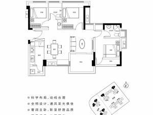 深圳宝昌利御峰公馆新房楼盘户型图58