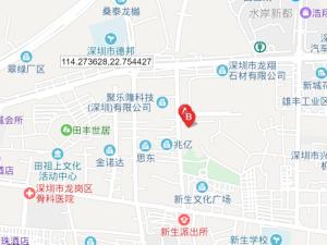 深圳君华时代新房楼盘交通图90