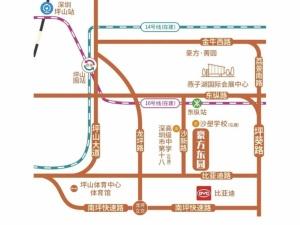 深圳豪方东园新房楼盘交通图13