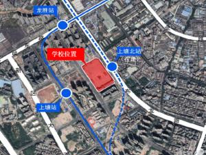 深圳龙华金茂府新房楼盘交通图99