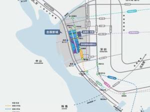 深圳会展湾中港广场新房楼盘交通图66